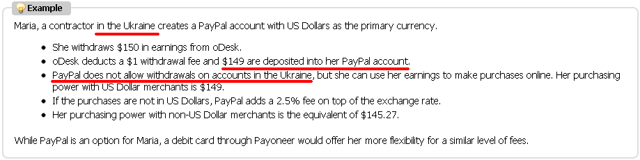 oDesk Paypal Example
